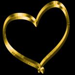 Golden Heart square